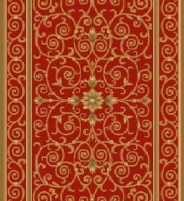 Ковер из вискозы Schenille 7427A red