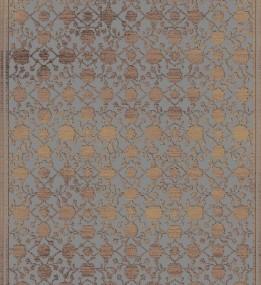 Ковер из вискозы Siteya 23110 tauple/grey