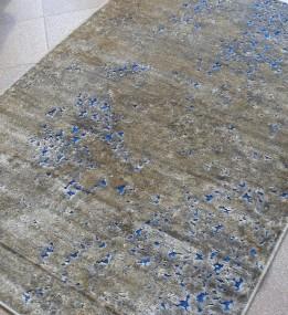 Ковер из вискозы Siteya 23138 tauple/blue