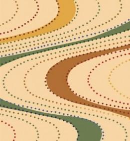 Шерстяной ковер Avant-Garde Collection Dune Krem