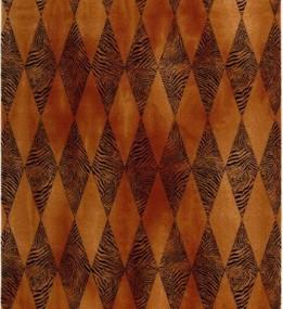 Шерстяной ковер Isfahan Beast Ciemna Sahara