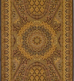 Шерстяной ковер Isfahan Atena Czarny
