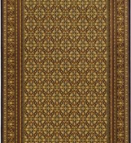 Шерстяной ковер Isfahan Minerwa Czarny