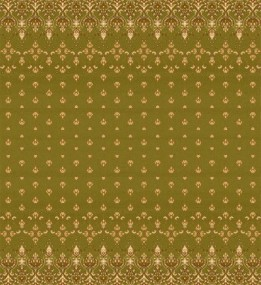 Шерстяной ковер Isfahan Mitra Oliwka