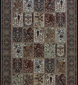 Шерстяной ковер Isfahan Timor black