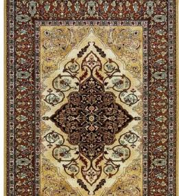 Шерстяной ковер Isfahan Leyla amber