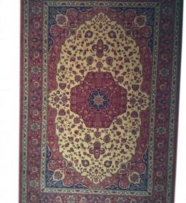 Шерстяний килим Kirman 0022 camel red - высокое качество по лучшей цене в Украине.