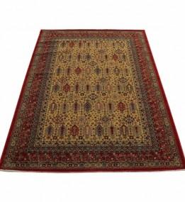 Шерстяний килим Kirman 0204 camel red - высокое качество по лучшей цене в Украине.