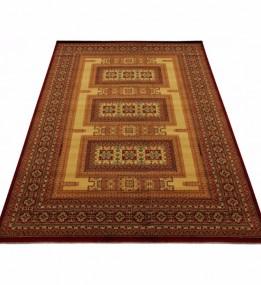 Шерстяний килим Kirman 0320 camel red - высокое качество по лучшей цене в Украине.