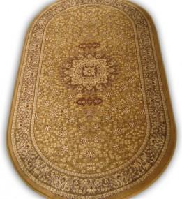 Шерстяной ковер Klasik 0060 d.beige - высокое качество по лучшей цене в Украине.