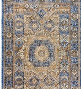 Шерстяной ковер Passion 3855A Blue