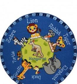 Детский ковер Animal Planet Blue