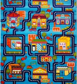 Детская ковровая дорожка Baby 6046  Mavi... - высокое качество по лучшей цене в Украине.