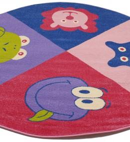 Детский ковер Daisy Fulya 8D69a pink