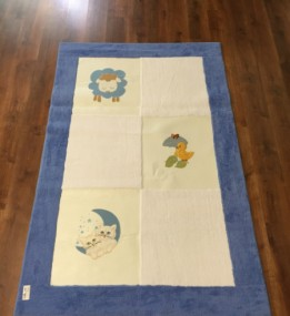 Детский ковер Egeberk EG 7 , BLUE WHITE