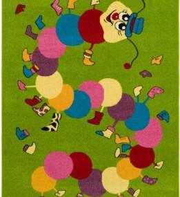 Детский ковер Funky Iwo Limonka