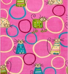 Детский ковер Funky Top Feline Amarant