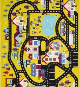 Детский ковер Funky Top Miasto C Pistacja