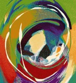 Детский ковер Funky Zen Limonka