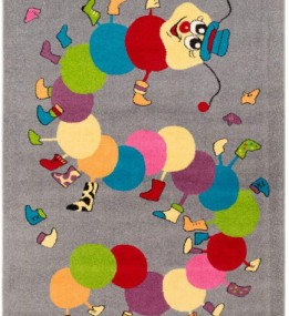 Детский ковер Funky Iwo Szary