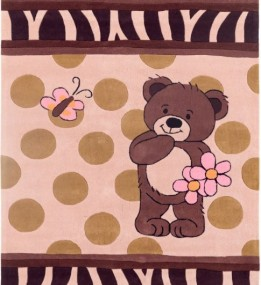 Детский ковер Kids 20 Butterfly Teddy Bear