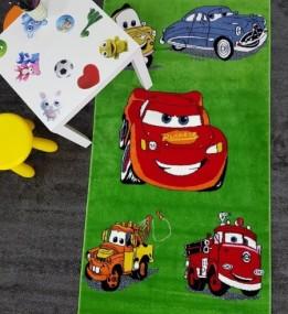 Детский ковер Kids A727A (A654A) green