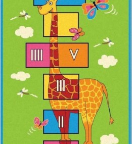 Детский ковер Kids Reviera 3726-44946 Green