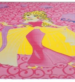 Детский ковер Rose 1756A d.pink-d.pink