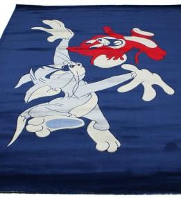 Детский ковер Rose 1799A navy-navy
