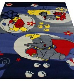 Детский ковер Rose 1765A blue-navy