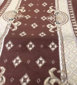 Синтетическая ковровая дорожка Gold Rada Brown