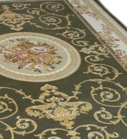 Акриловая ковровая дорожка Veranda 602 , GREEN