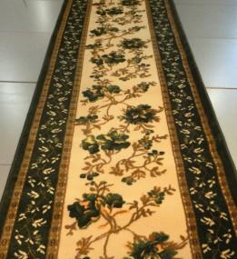 Акриловая ковровая дорожка Exlusive 0383 green