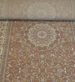 Высокоплотная ковровая дорожка Esfehan 4878A brown-ivory
