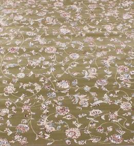 Высокоплотная ковровая дорожка Esfehan 4904A green-ivory