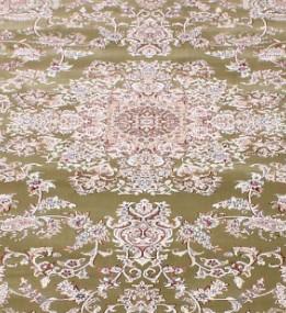 Высокоплотная ковровая дорожка Esfehan 5978A green-ivory
