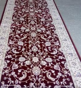 Высокоплотная ковровая дорожка Ottoman 0917 бордо