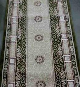 Высокоплотная ковровая дорожка Ottoman 8198 зеленый