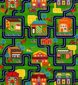 Дитяча килимова доріжка Baby 6046 Yeshil... - высокое качество по лучшей цене в Украине.