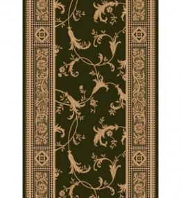 Кремлевская ковровая дорожка Selena / Lotos 522-361 green Рулон