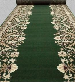 Кремлевская ковровая дорожка Silver / Gold Rada 028-32 green