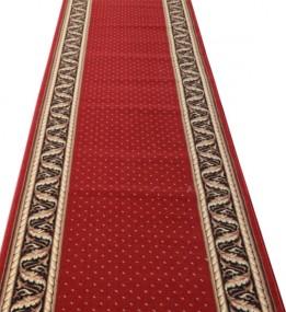 Кремлевская ковровая дорожка Silver / Gold Rada 362-22 red