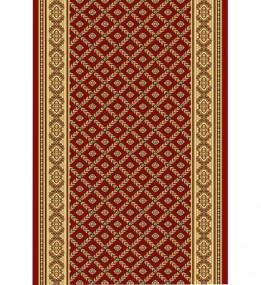 Кремлевская ковровая дорожка Silver / Gold Rada 330-22 red