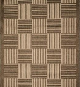 Безворсовая ковровая дорожка Sisal 041 dark-light
