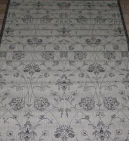 Безворсовая ковровая дорожка Cottage 2744 sand-black