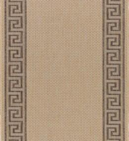 Безворсовая ковровая дорожка Natura 20014 Natural-Coffee Рулон