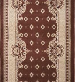 Синтетична килимова доріжка Almira 2356 Choko/Coffee
