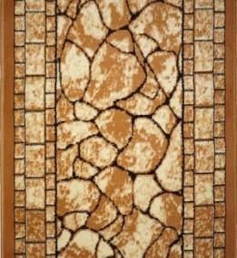 Синтетическая ковровая дорожка Almira 2329 Cream-Beige Рулон