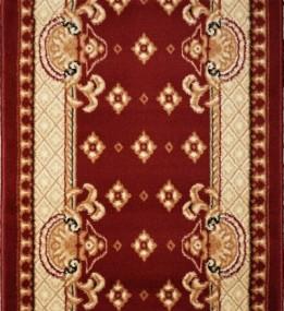 Синтетическая ковровая дорожка Almira 2356 Red-Cream Рулон