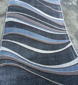 Синтетическая ковровая дорожка Daffi 13001 grey